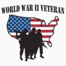World War II Veteran T-Shirt by HolidayT-Shirts