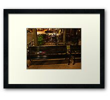 Downtown Sioux Falls at 4:30 AM Framed Print