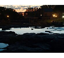 Dawn Above The Sioux Falls Photographic Print