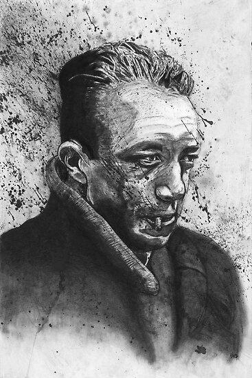 Albert Camus by maddesperado