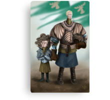 Brienne and Loras Canvas Print