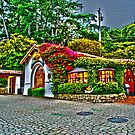 Carmel Gas Station by RoySorenson