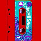 Red Happy Sounds Cassette Tape 2 by HighDesign