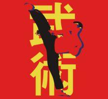 Wushu - Kungfu - Kicking Man by Chris Serong