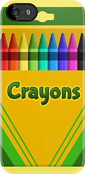 Crayons! - Now with 9 colours! by Teague Hipkiss