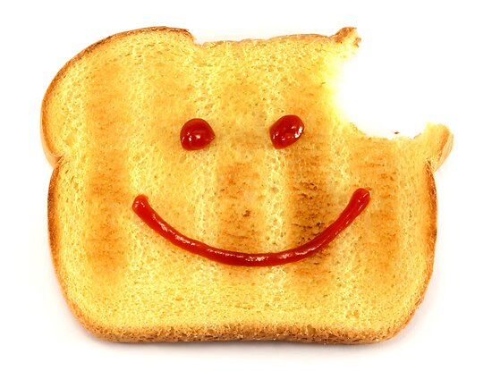Bread with Happy Face by BlinkImages