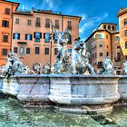 An afternoon in Piazza Navona... by Stavros