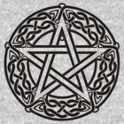 Celtic Pentagram, Pentacle by chromedreaming