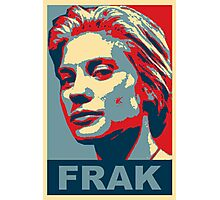 Starbuck: Frak (Battlestar Galactica) Photographic Print