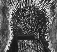 The Iron Throne by maddesperado