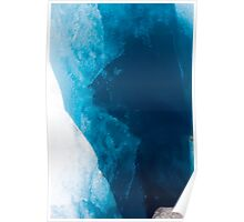 Icy Blue Poster