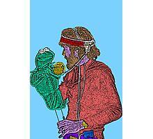 Jim Henson Kermit the Frog Culture Cloth Zinc Collection Photographic Print
