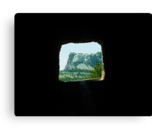 View Through a Tunnel Canvas Print