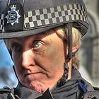 British Police Woman in London by FC Designs