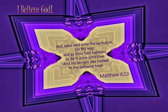 Thou Hast Believed. . . by aprilann