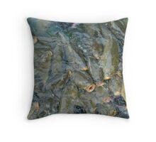 Carp & Catfish Throw Pillow