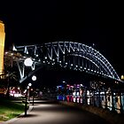 Sydney Harbour Bridge by philcoop