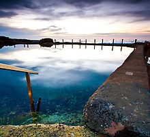 Mahon Pool early winters morning by One-Country