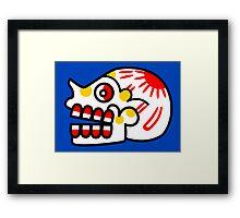 Aztec Skull 2 Framed Print