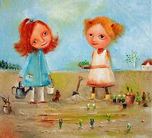 Little Gardeners by Monica Blatton