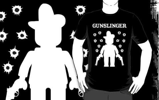 GUNSLINGER by Customize My Minifig by ChilleeW