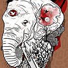Melting Elephant by Liviu Matei