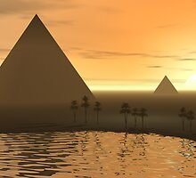 The Giza Necropolis by perkinsdesigns
