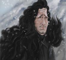 Jon Snow by JenSnow