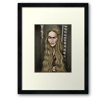 Cersei Lannister Framed Print