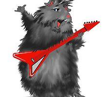Rockin' Rodent by redqueenself