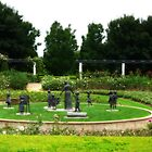Grandmothers Garden - Hunter Valley Gardens by Marilyn Harris