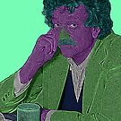Kurt Vonnegut Culture Cloth Zinc Collection by CultureCloth