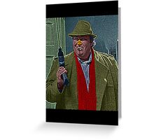 Uncle Buck John Candy Culture Cloth Zinc Collection Greeting Card