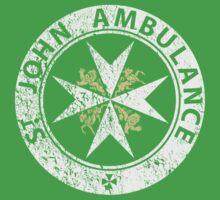 St. John Ambulance, distressed Kids Clothes
