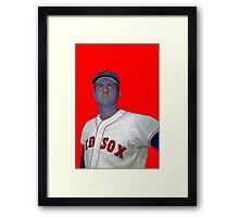 Carl Yastrzemski Boston Red Sox Culture Cloth Zinc Collection Framed Print