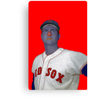 Carl Yastrzemski Boston Red Sox Culture Cloth Zinc Collection Canvas Print