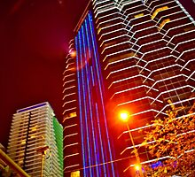 Miami Nights - Brickell VIII by Terry Neves