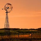 Saskatchewan windmill by Marcelene McCowan