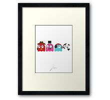 Hiding in Plain Sight Framed Print