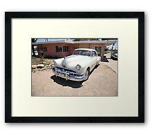Route 66 - Classic Pontiac Framed Print