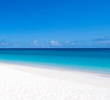Caribbean beach. by FER737NG