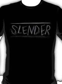 SLENDER game logo T-Shirt
