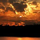 Mysterious Sunset by Kathy Baccari