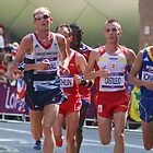 Scott Overall Team GB - London Olympic Marathon - 2012 by Colin J Williams Photography
