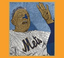 Casey Stengle New York Mets Cast Culture Cloth Zinc Collection by CultureCloth