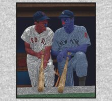 Dimaggio and Williams Yankees Red Sox Culture Cloth Zinc Collection T-Shirt