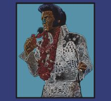 Elvis Presley Blue Hawaii Culture Cloth Zinc Collection T-Shirt