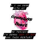 Graceless Heart [iPhone / iPod case / Tshirt / Print] by swelldame
