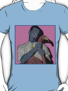 John Waters Pink Flamingo Culture Cloth Zinc Collection T-Shirt