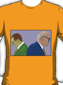 Lombardi and Halles Bears Packers Culture Cloth Zinc Collection T-Shirt